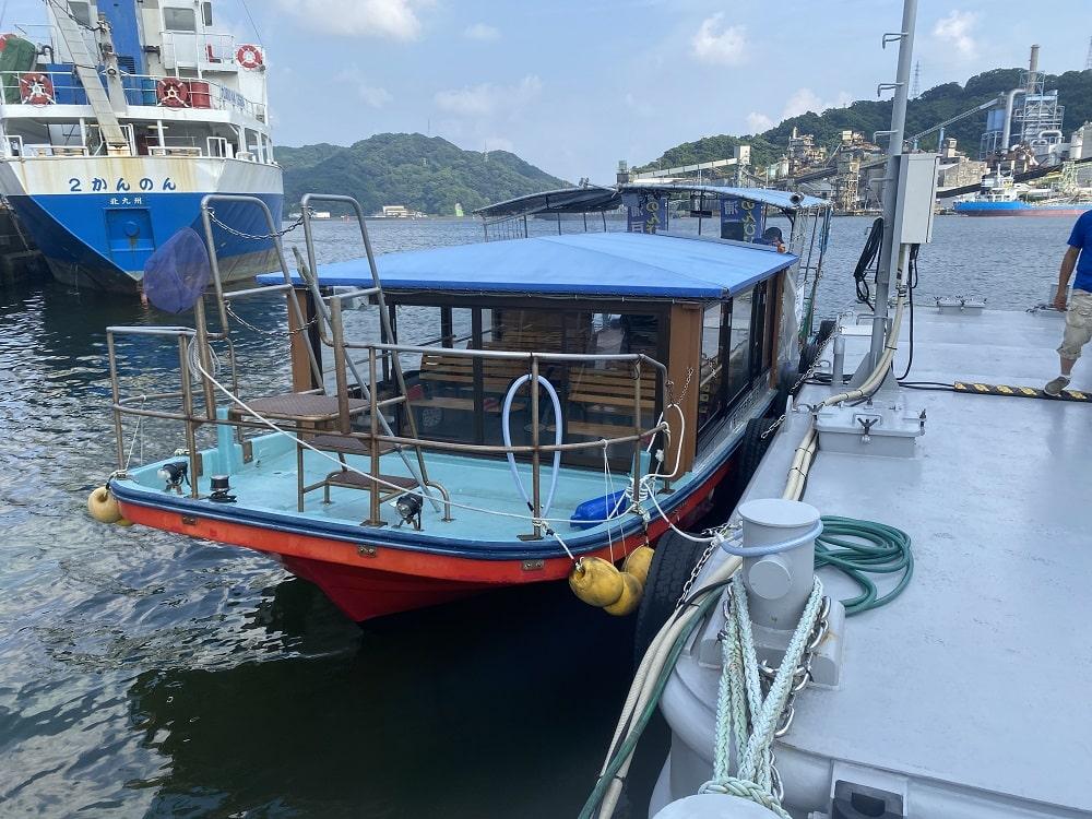 高知市にある遊覧船「のんびりクルーズ」