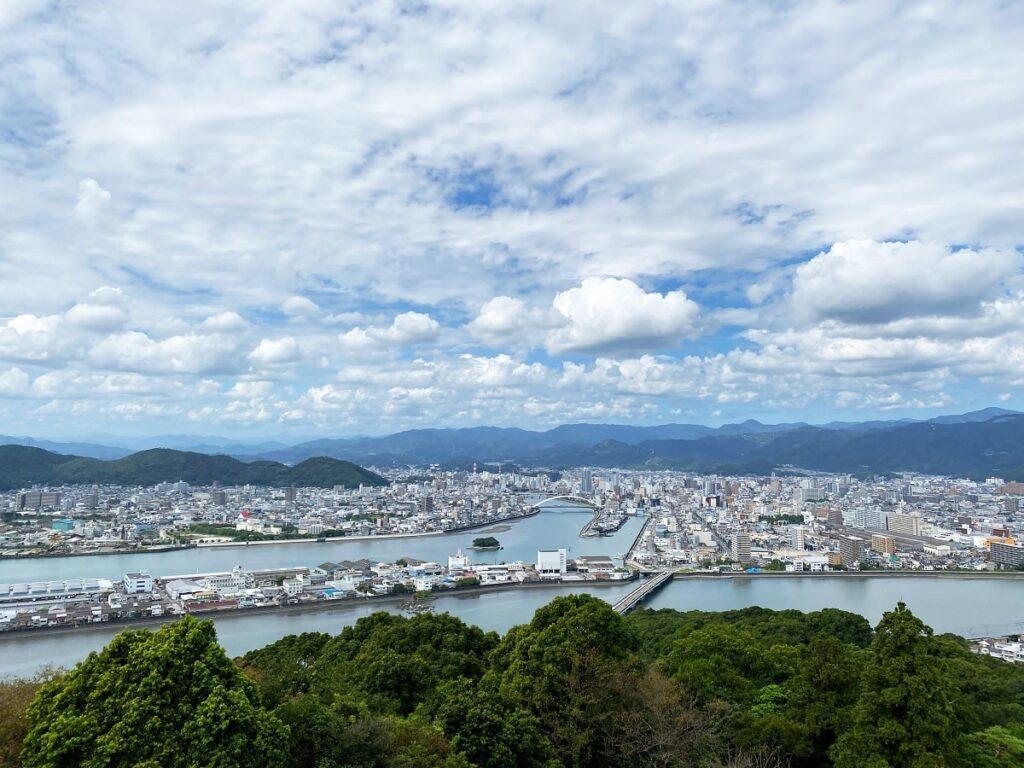 高知市五台山の3つの観光スポット