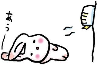 パッドやシートで対策改善するウサギ